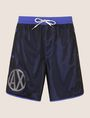 ARMANI EXCHANGE CIRCLE LOGO MESH SWIM TRUNK Swim Man r