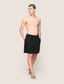 ARMANI EXCHANGE BELTED WAIST LOGO SWIM SHORTS Swim Man d