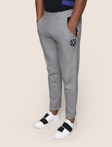ARMANI EXCHANGE CIRCLE LOGO COLORBLOCK SWEATPANTS Fleece Pant Man f
