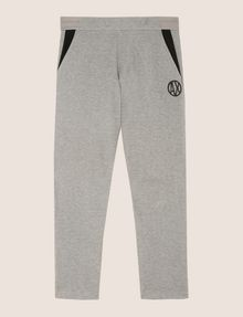 ARMANI EXCHANGE CIRCLE LOGO COLORBLOCK SWEATPANTS Fleece Pant Man r