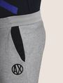 ARMANI EXCHANGE CIRCLE LOGO COLORBLOCK SWEATPANTS Fleece Pant Man b