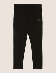 ARMANI EXCHANGE COLORBLOCK-SWEATPANTS MIT RUNDEM LOGO Fleece-Hose Herren r