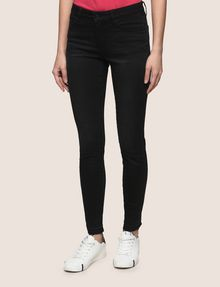 ARMANI EXCHANGE FRAYED HEM SUPER-SKINNY JEANS Skinny jeans Woman f