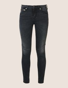 ARMANI EXCHANGE MOTO DETAIL SUPER-SKINNY JEANS Skinny jeans Woman r