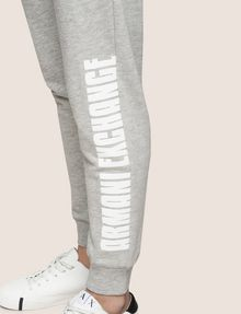 ARMANI EXCHANGE RETRO LOGO JOGGER Fleece Pant Woman b