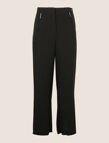 ARMANI EXCHANGE ZIP DETAIL WIDE-LEG TROUSER Culotte Woman r