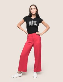 ARMANI EXCHANGE ZIP DETAIL WIDE-LEG TROUSER Culotte Woman d