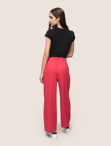 ARMANI EXCHANGE ZIP DETAIL WIDE-LEG TROUSER Culotte Woman e