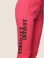 ARMANI EXCHANGE SPLIT LOGO JOGGER Fleece Trouser Woman b