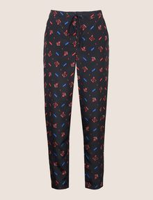 ARMANI EXCHANGE PRINTED TIE-WAIST JOGGER Jogger Woman r