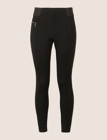 ARMANI EXCHANGE SINGLE-ZIP LEGGING Legging Woman r