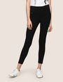 ARMANI EXCHANGE SINGLE-ZIP LEGGING Legging Woman f