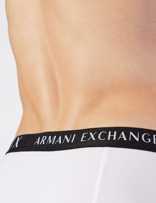 ARMANI EXCHANGE LOGO WAISTBAND BOXER BRIEFS, 2 PACK Boxer Man e