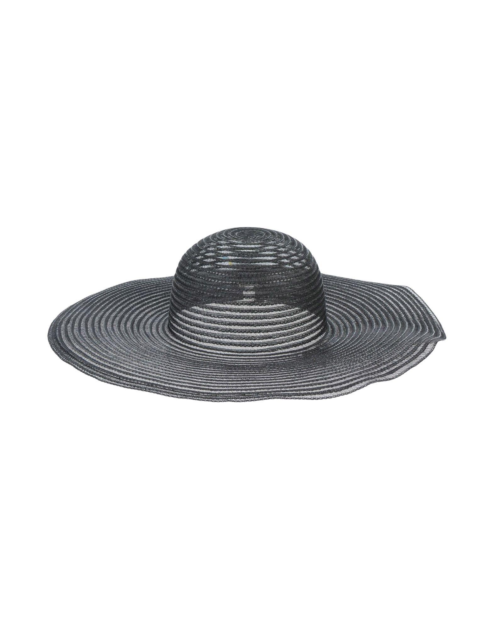 《期間限定セール中》CHRISTIES レディース 帽子 ブラック 57 ナイロン 100%