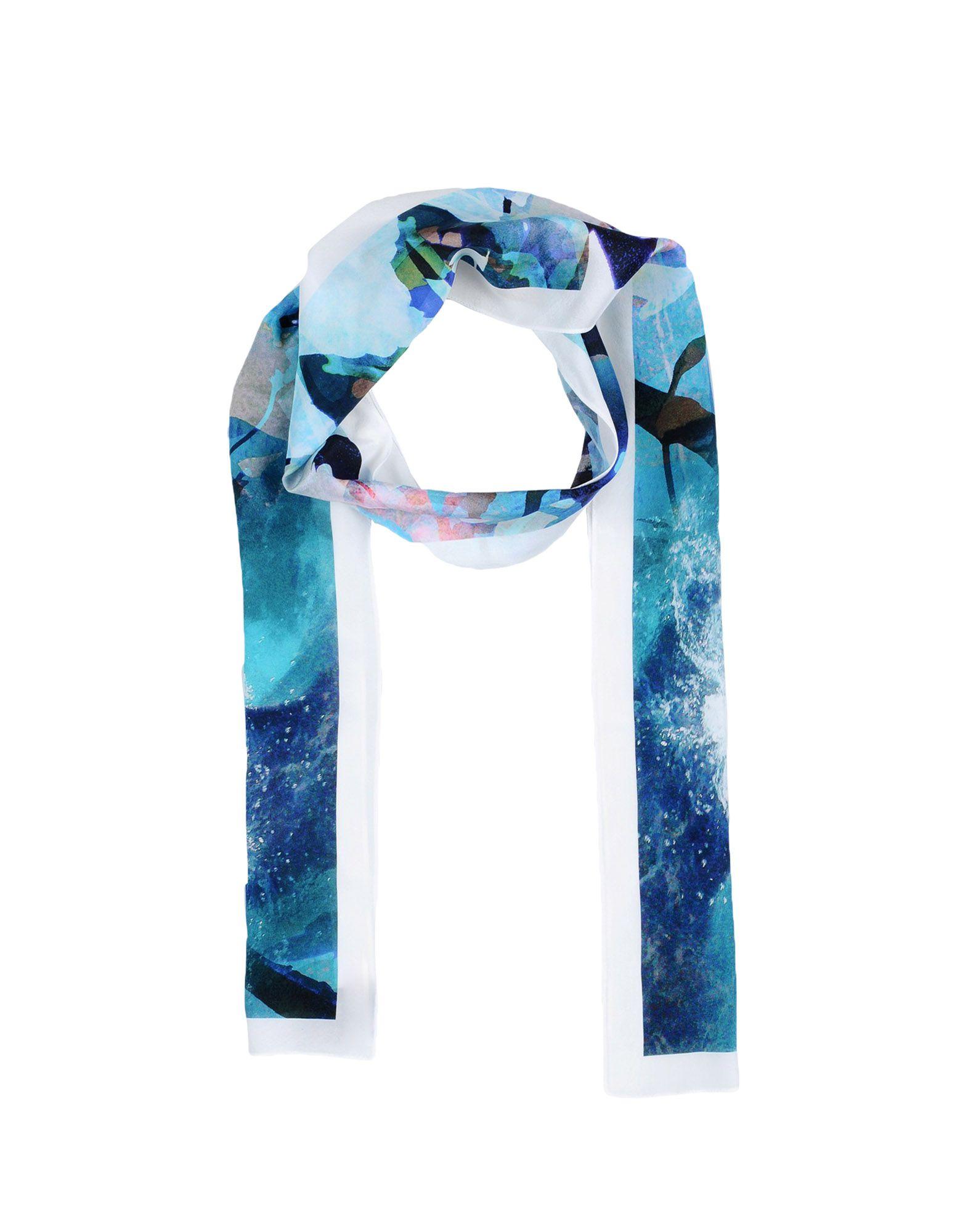 RACHEL ZARKHOSH Шарф rachel rachel roy new black women size xs crewneck textured printed sweater $89