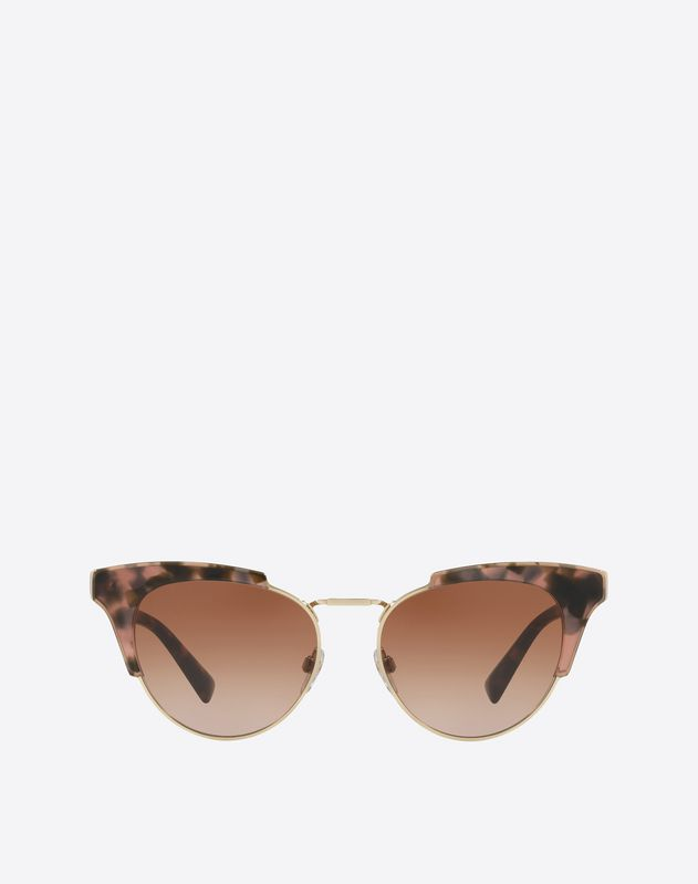 Metal and Acetate Sunglasses