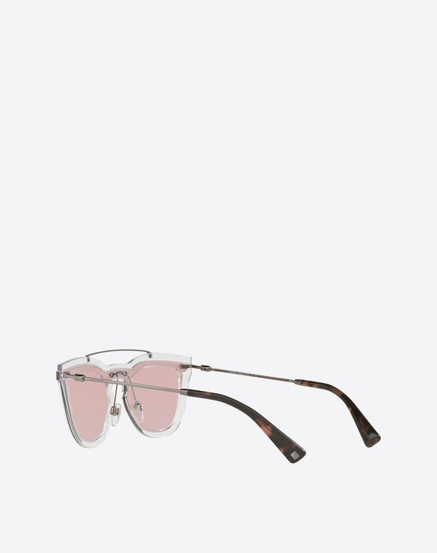 Metal and Nylon Sunglasses