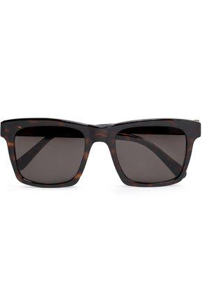 PRISM Square-frame tortoiseshell acetate sunglasses