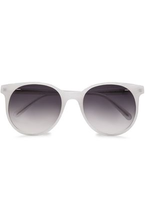 PRISM Round-frame acetate sunglasses