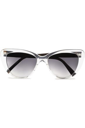 PRISM Capri cat-eye acetate sunglasses