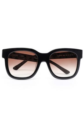 THIERRY LASRY D-frame acetate sunglasses