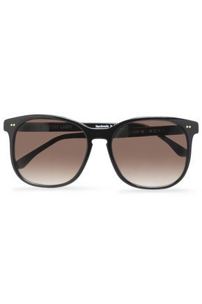 THIERRY LASRY Square-frame acetate gradient sunglasses