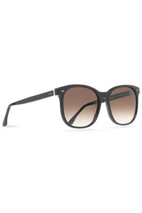 THIERRY LASRY Square-frame acetate gradient sunglasses