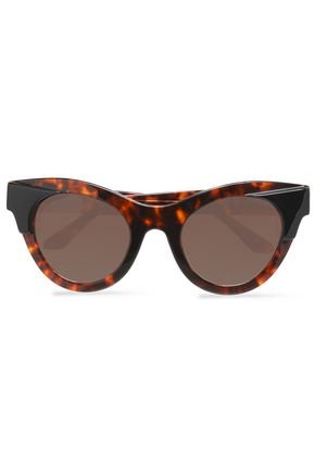 THIERRY LASRY Cat-eye tortoiseshell acetate sunglasses