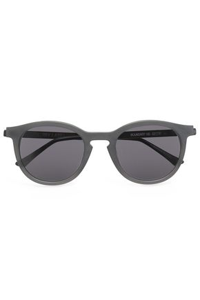 THIERRY LASRY Round-frame acetate sunglasses