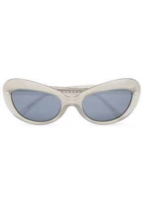 MATTHEW WILLIAMSON Cat-eye acetate sunglasses