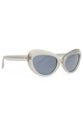 MATTHEW WILLIAMSON Cat-eye acetate sunglasses