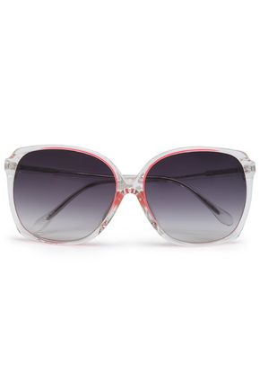 MATTHEW WILLIAMSON Oversized square-frame acetate sunglasses