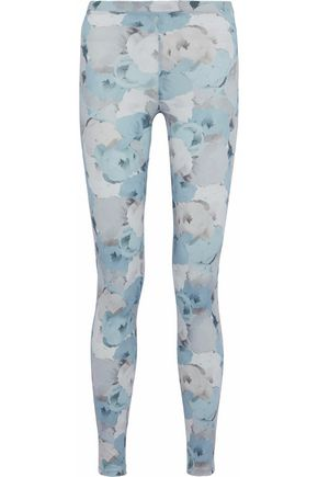 LIVE THE PROCESS Floral-print stretch-Supplex leggings