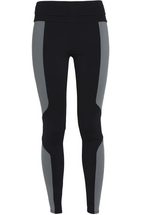 LIVE THE PROCESS Two-tone stretch leggings