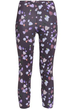 LIVE THE PROCESS Printed stretch leggings