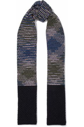 M MISSONI Intarsia-knit wool scarf