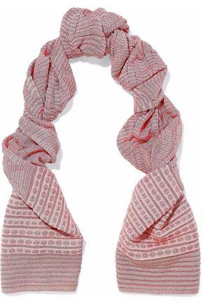 M MISSONI Intarsia-knit scarf