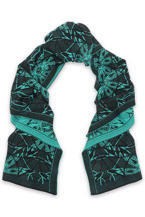 M MISSONI Wool-blend jacquard scarf