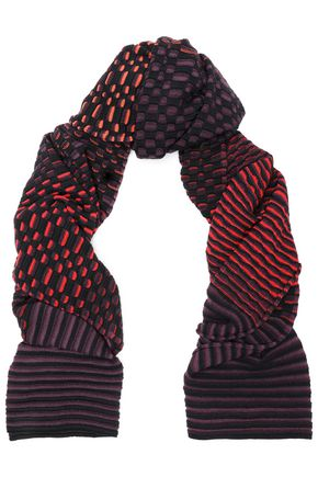 M MISSONI Wool and cotton-blend scarf