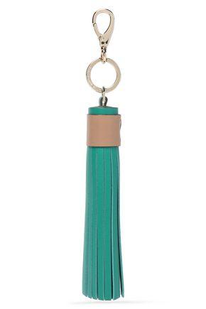 ANYA HINDMARCH Tasseled leather keychain