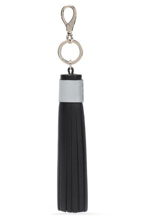 ANYA HINDMARCH Leather tassel keychain