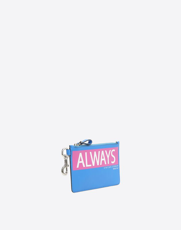 Small Coordinates Zip Pouch