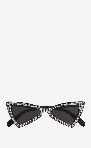 SAINT LAURENT NEW WAVE Woman NEW WAVE 207 JERRY sunglasses in black a_V4
