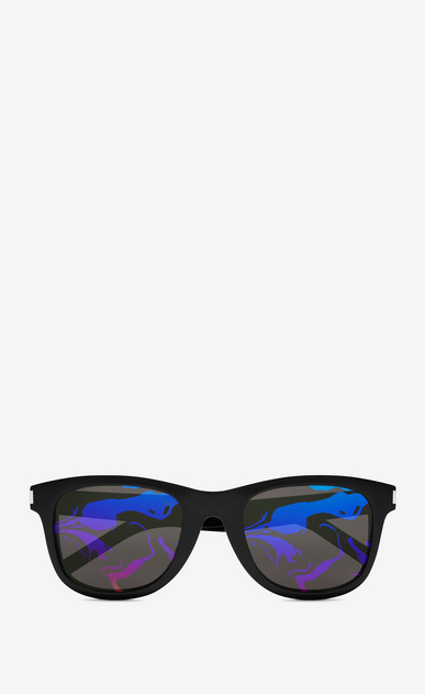 SAINT LAURENT CLASSIC E 51 sunglasses in black a_V4