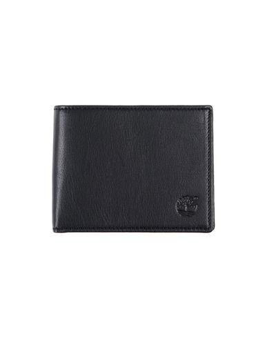 TIMBERLAND メンズ 財布 ブラック 牛革