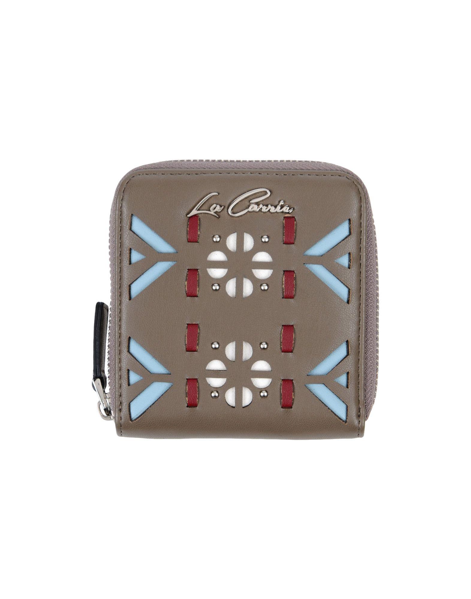 LA CARRIE BAG Wallet in Khaki