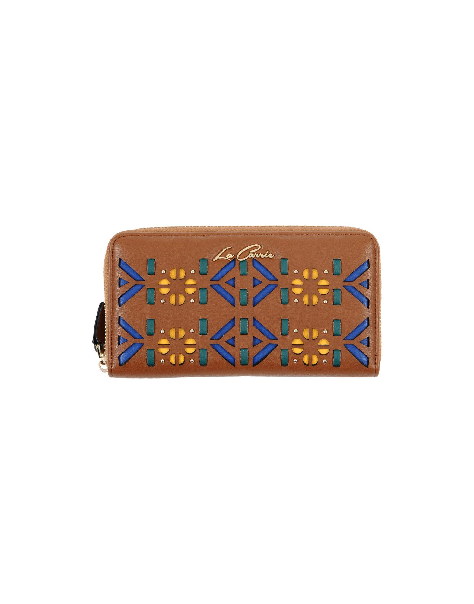 LA CARRIE BAG Wallet in Brown