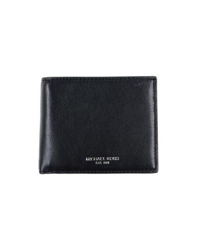 MICHAEL KORS メンズ 財布 ブラック 革