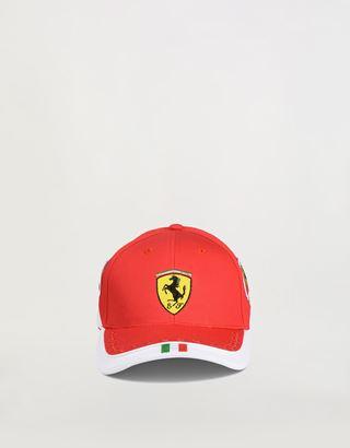 Scuderia Ferrari Online Store - Scuderia Ferrari Red Team Boys' Cap - Baseball Caps