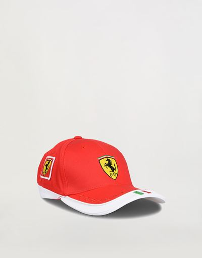 Children's Scuderia Ferrari Red Team Cap